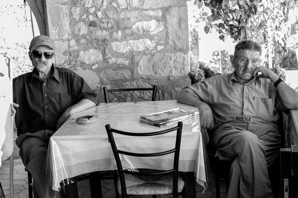 Two Godfathers by touchingportraits