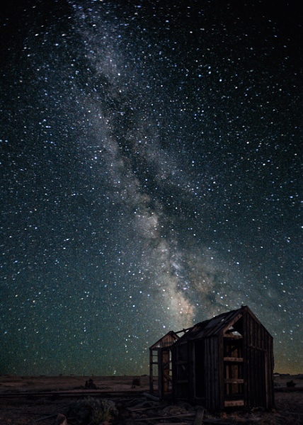 Milkyway Shack by Terry L