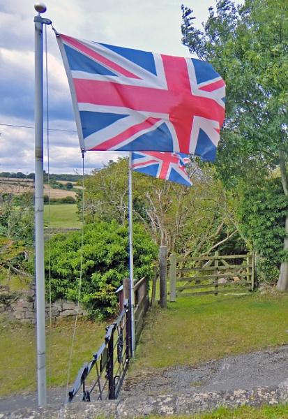 Flags and Gates. by Gypsyman