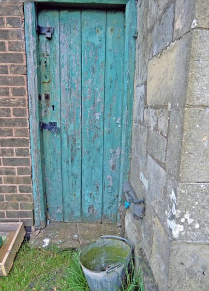If locked use the bucket. by Gypsyman