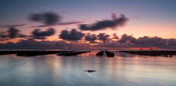 Grouville Bay Sunrise by happysnapper