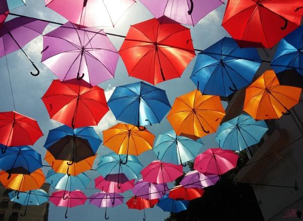 Umbrella Sky by SHR