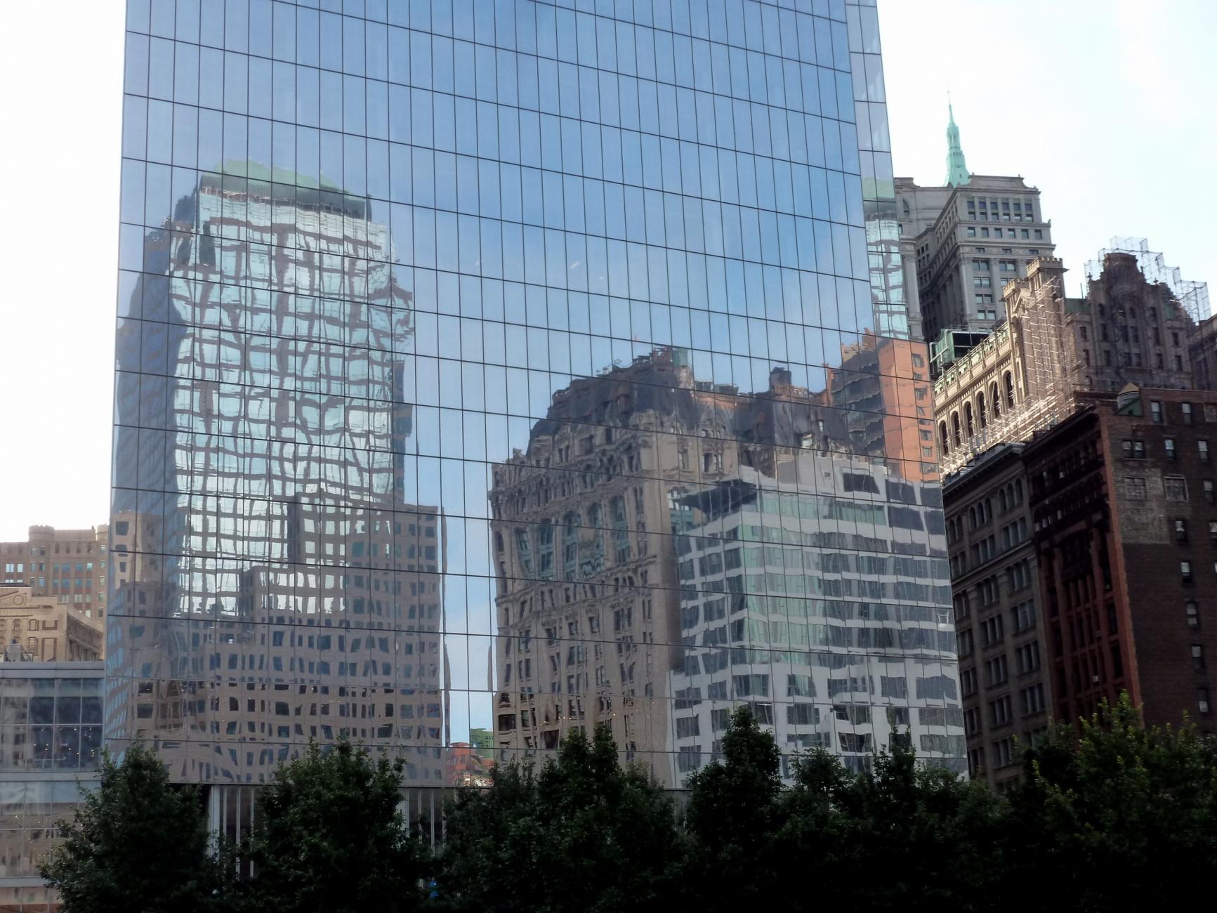 Manhattan Reflected