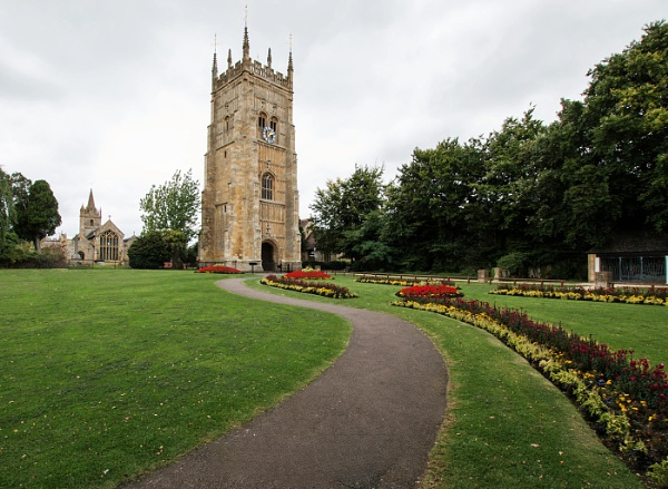 Evesham Abbey Bell Tower by Janetdinah