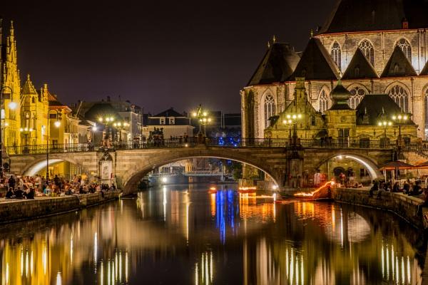 Glittering Ghent by CrustyPics