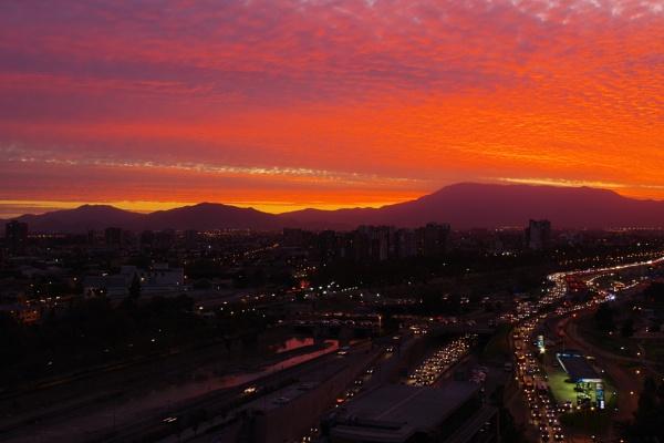 Santiago  Sunset by PentaxBro