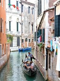Kick start, in Venice.