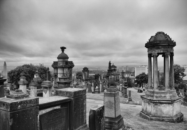 Necropolis (What a Grey Day) by digital_boi