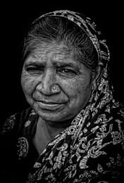 Portrait of a vegetable vendor