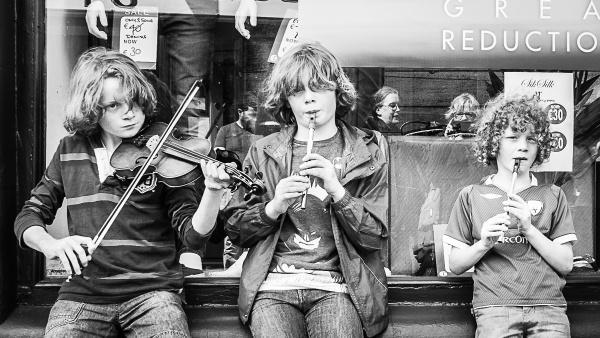 Street Musicians by JFitz
