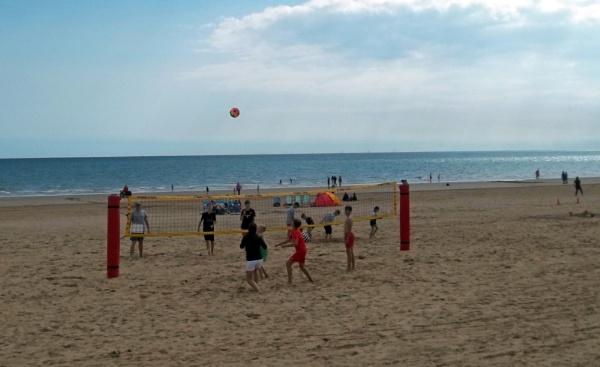 Beach Volleyball by Hurstbourne