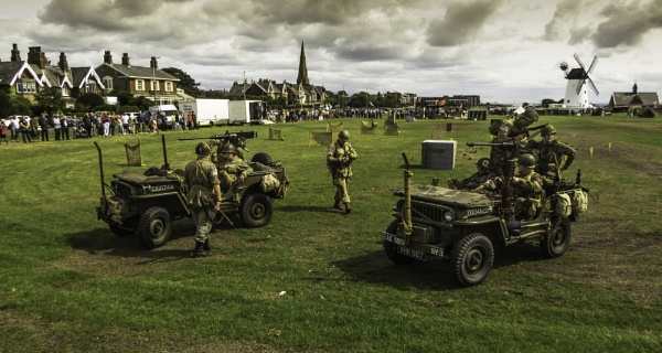 Lytham WW2 Re-enactment by nstewart
