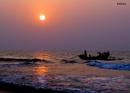 Sunrise at Puri Sea Beach (India)...9 by debu