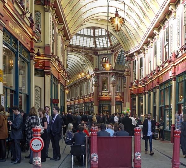 Leadenhall Market by StevenBest
