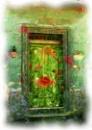 The Green Door by iscaphotos21