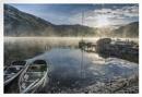 Ullswater winter  sunrise by deavilin