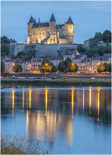 Château de Saumur, France by Tobytoes