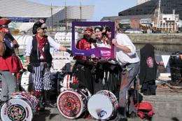 Pirates at Albert Dock