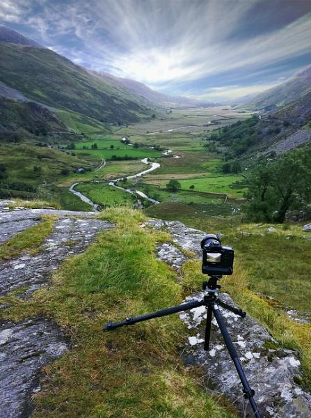 Welsh valley by Nobbythenobster2
