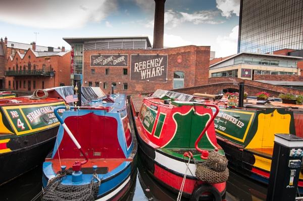 Working Boats in Regency Wharf by nikonphotographer