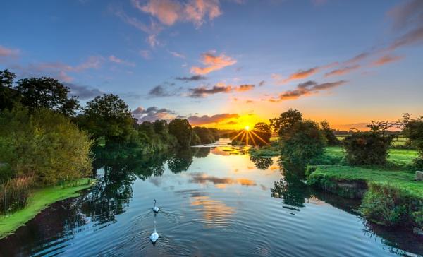 Eye Bridge Sunrise by NickLucas