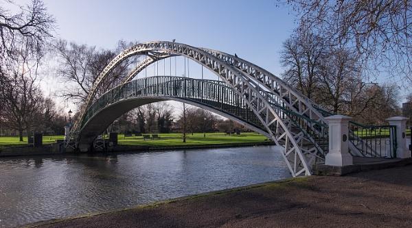 Bedford Suspension Bridge by Pretium