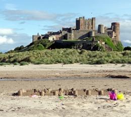 Two Castles at Bamburgh