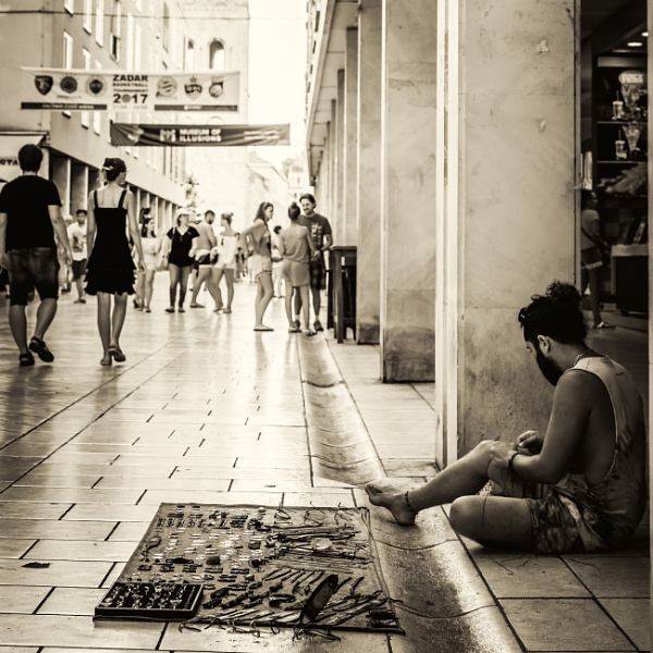 zadar street by mogobiker