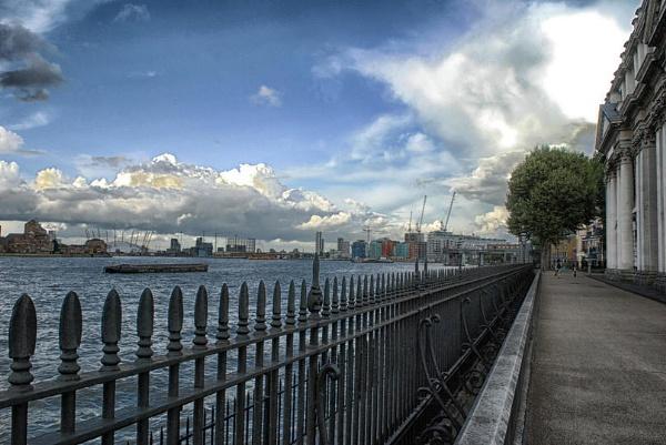 Greenwich skyline by KrazyKA