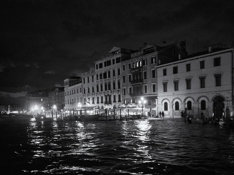 Venice after dusk