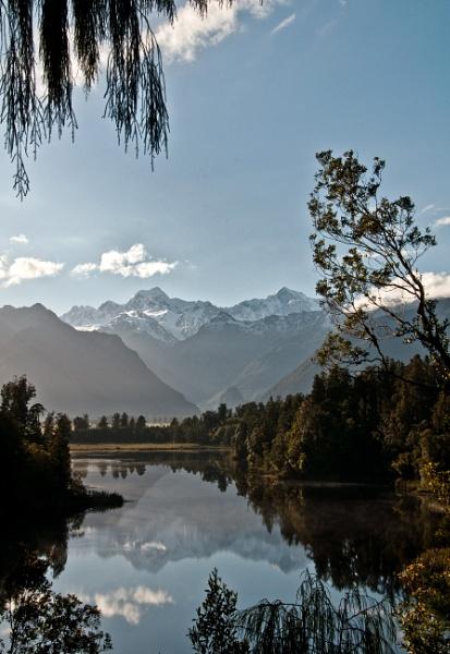 Lake Matheson (2) NZ by barryyoungnz