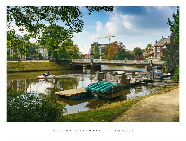 Niewe Havenbrug - Zwolle by parallax