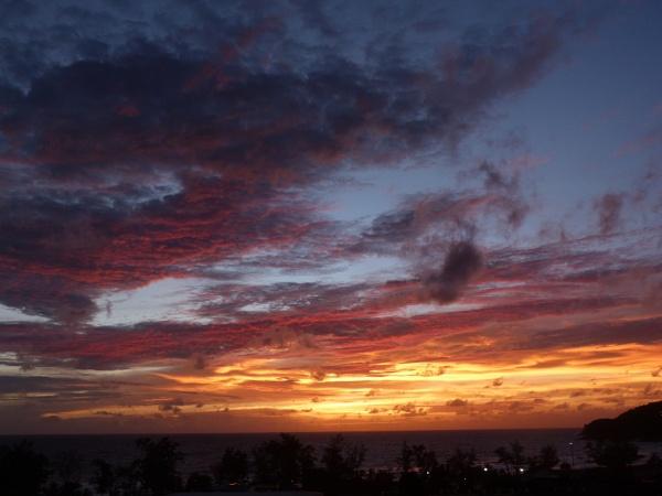 Sundown in Phuket by lizziesharks