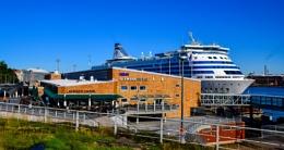 Port of Helsinki.