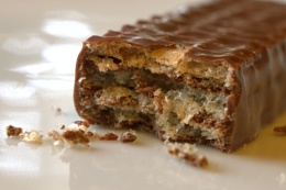 Photo : Chocolate Finger Wafer Biscuit