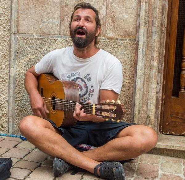 Street Musician by bwlchmawr