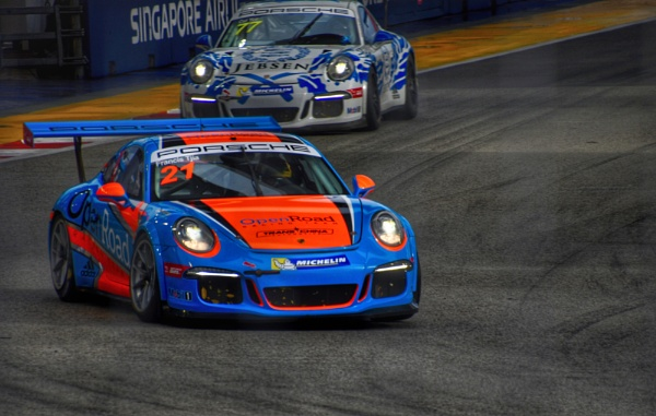 Porsche racing by ColleenA