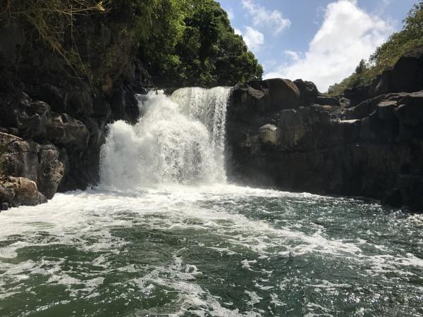 GRSE Waterfalls Mauritius by caj26