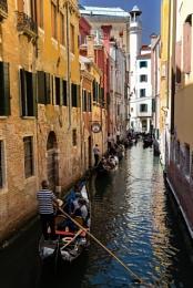 Traffic Jam in Venice ...