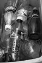 Empty drink bottles by SHR