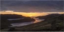Sunset Loch Inchard
