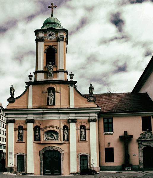 St Rochs Chapel Budapest by Vambomarbleye
