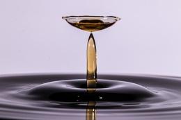Cola waterdrop.