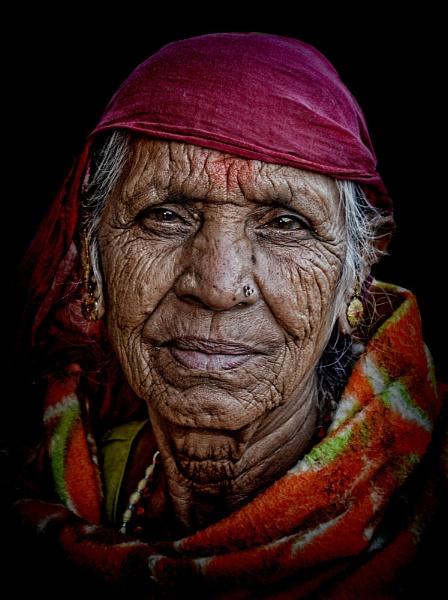 Matriarch of Pushkar by sawsengee