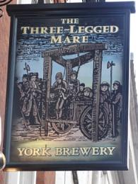 The Three Leged Mare, York