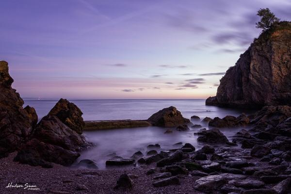 Babbacombe Bay by sunsetskydancer