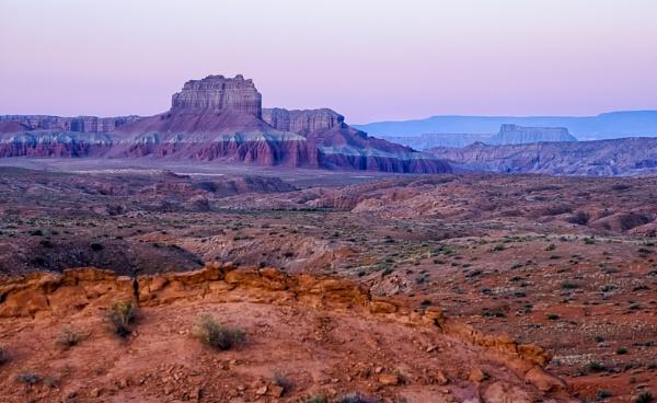 Desert Rise by mlseawell