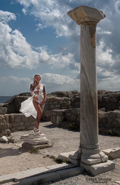 Greek Godess by marksilvester