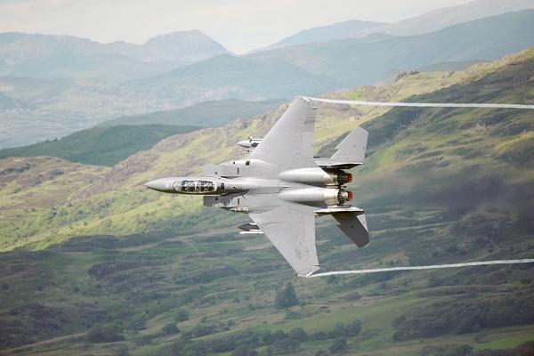 F-15 Eagle by geoffrey baker