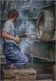 Dry dock Boat Cleaner